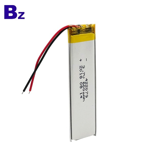 600mAh 3.7V Polymer Li-Ion Battery