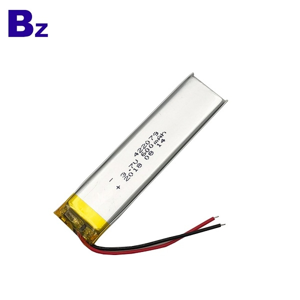 600mAh Polymer Li-Ion Battery