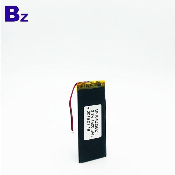 423282 1400mAh 3.7V Lipo Battery