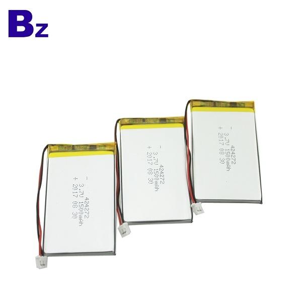 1500mah 3.7V Lipo Battery
