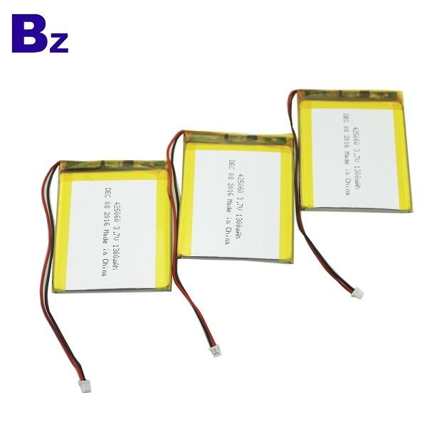 425060 1300mAh 3.7V Rechargeable LiPo Battery
