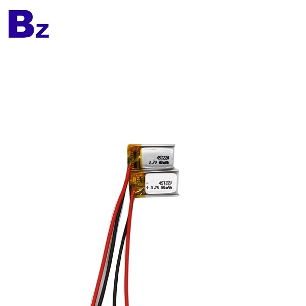 80mah LiPo Battery For Wearable Device