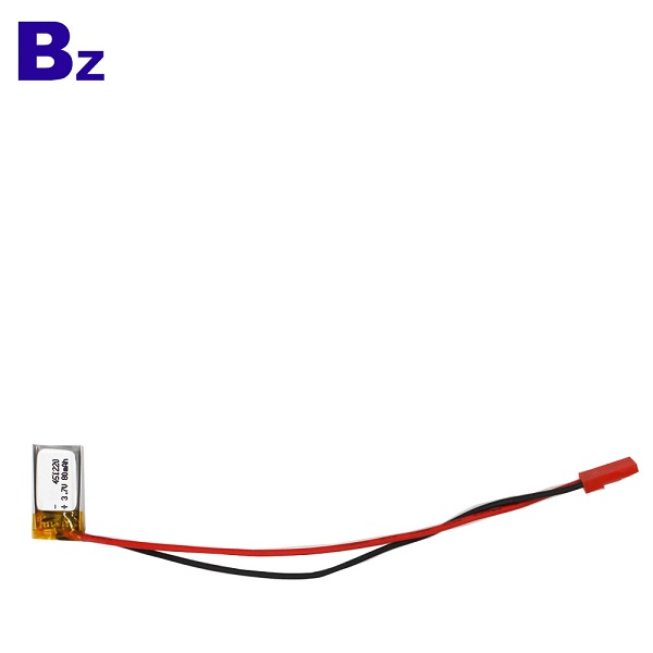 80mah 3.7V LiPo Battery For Wearable Device