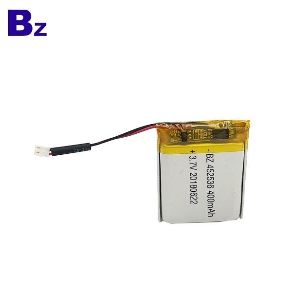 400mAh 3.7V Lipo Battery