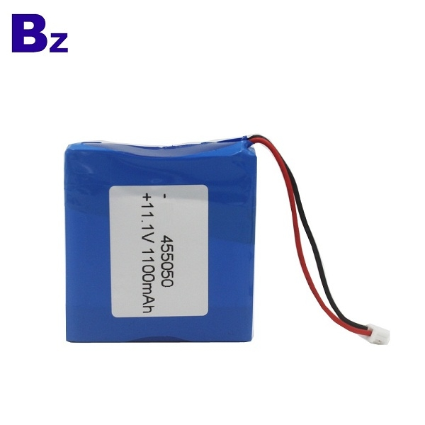 Rechargeable Lipo Battery BZ 455050 3S 11.1V 1100mAh Polymer Li-ion Battery