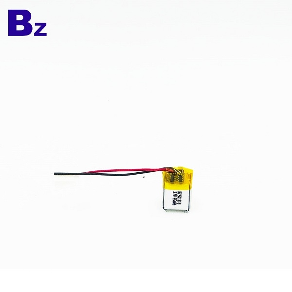 501318 55mAh 3.7V Lithium Polymer Battery