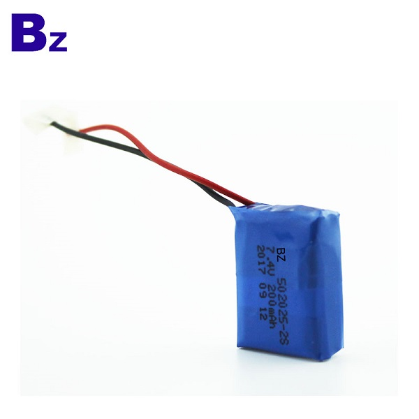 200mah Rechargeable Polymer Li-Ion Battery