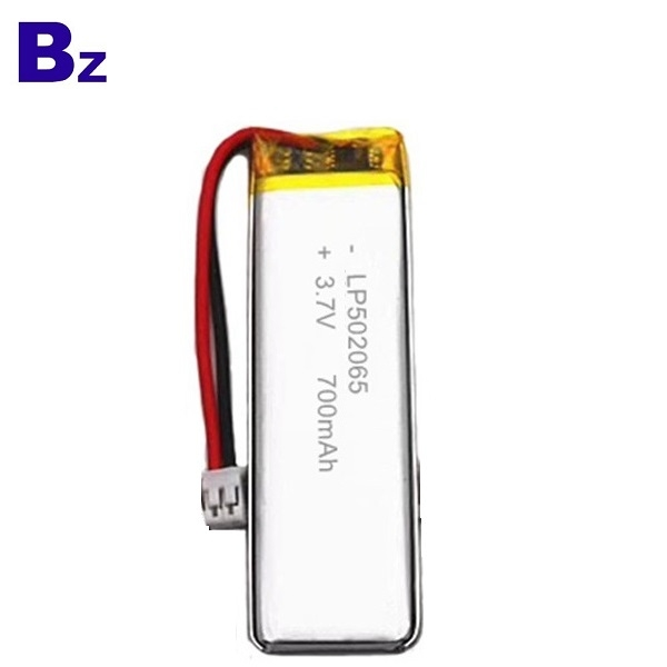 502065 700mAh 3.7V Lipo Battery