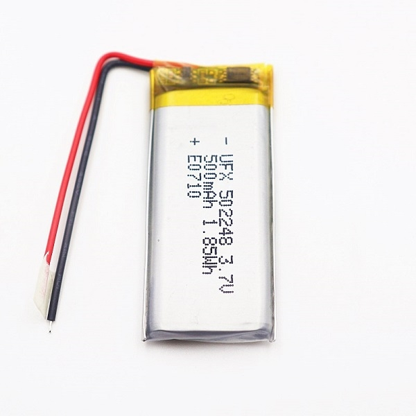 500mAh Lithium Battery