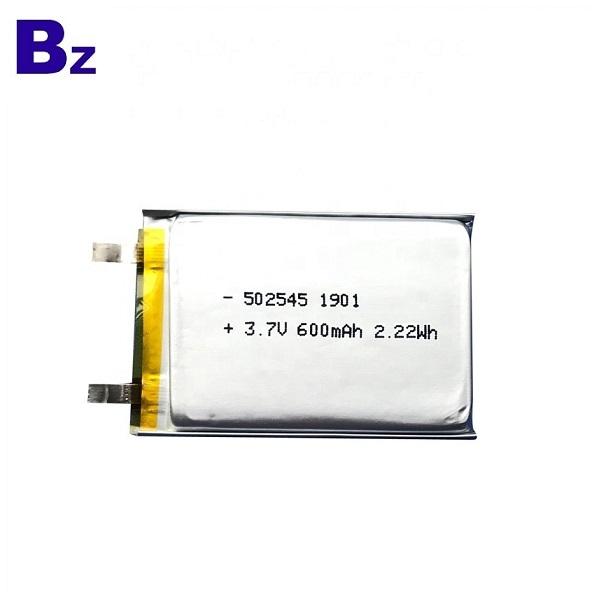 600mAh Lithium Battery for Sweep Meter