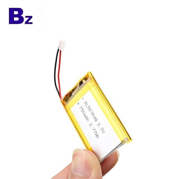 750mAh 3.7V Li-polymer Battery