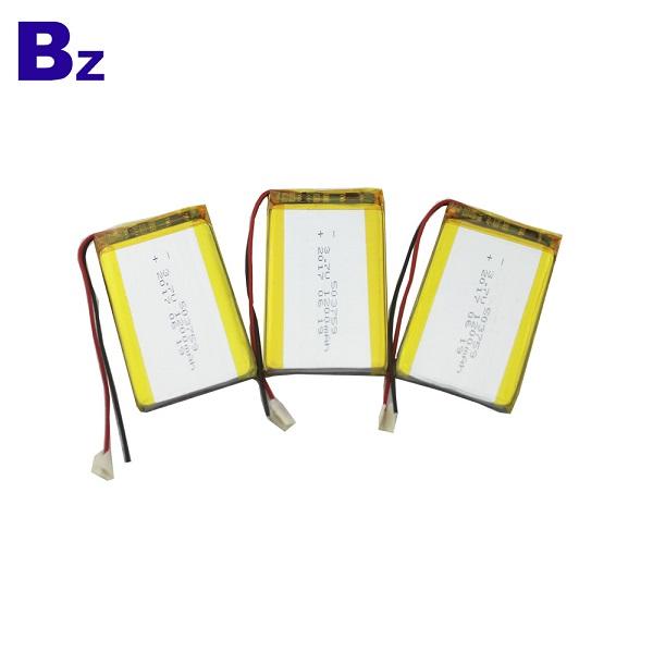 503759 1200mAh 3.7V Rechargeable LiPo Battery