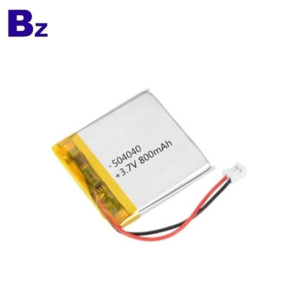 800mAh li-polymer battery for Bluetooth keyboard