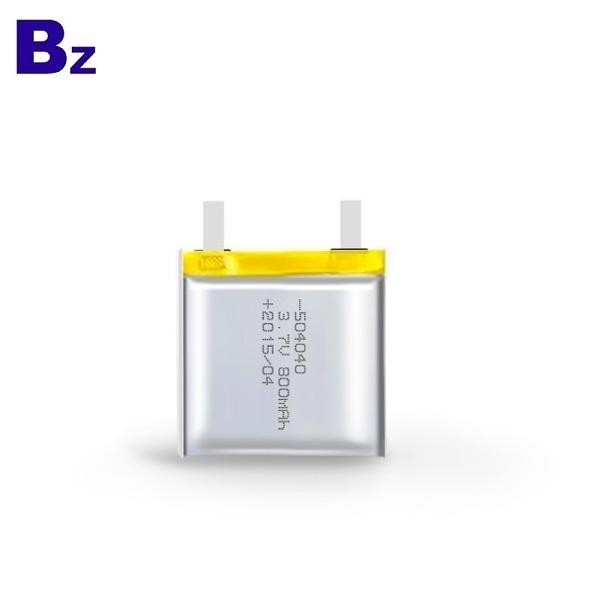 504040 800mAh 3.7V Lipo Battery