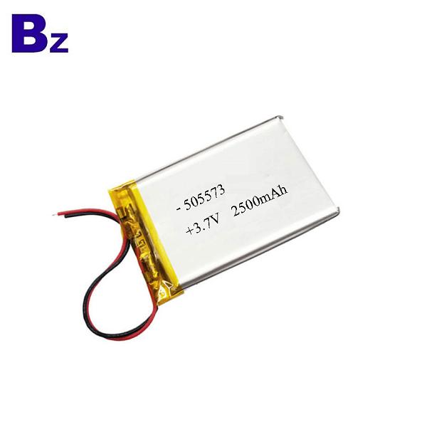 2500mah 3.7V Polymer Li-ion Battery