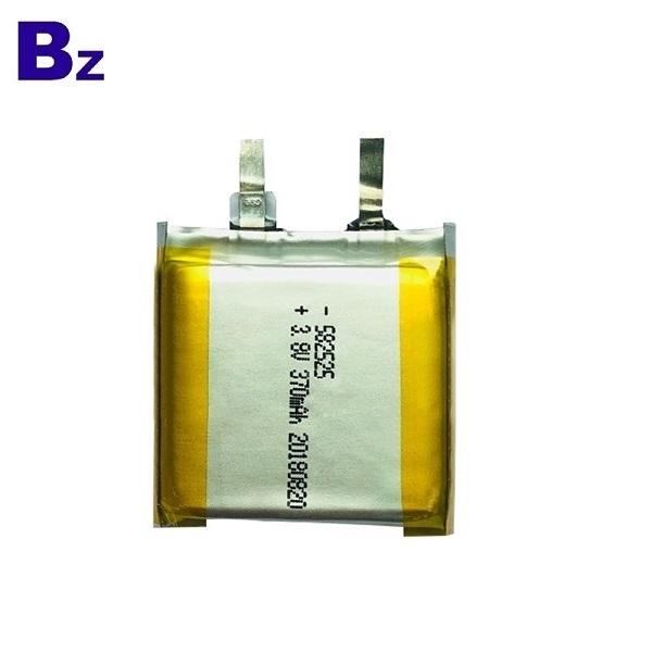 582525 3.8V 370mAh Lithium Battery