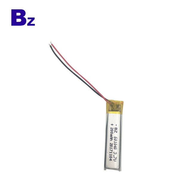 3.7V 200mAh Lithium-ion Polymer Digital Battery
