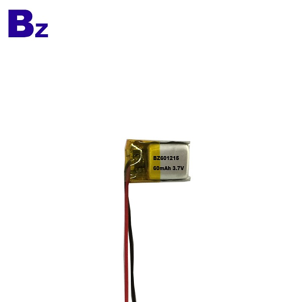 60mAh 3.7V LiPo Battery