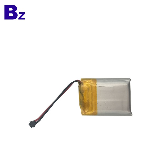250mAh 3.7V Rechargeable Li-Polymer Battery