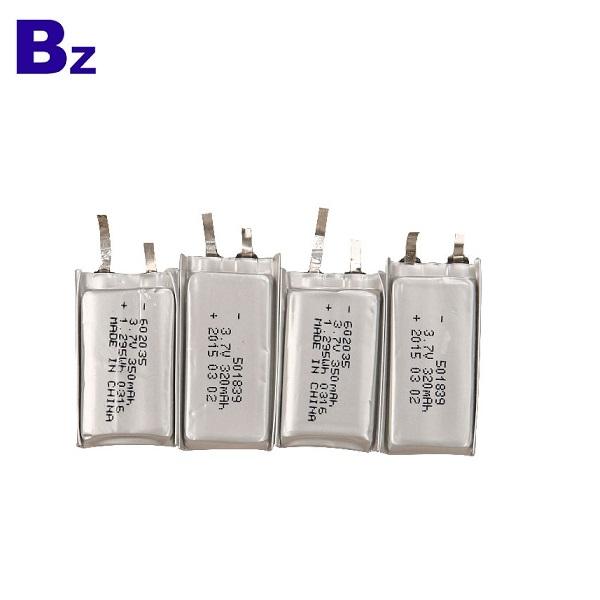 602035 350mah 3.7V Lipo Battery