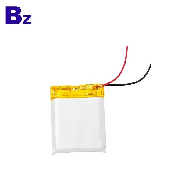 602530 450mAh 3.7V Li-ion Battery