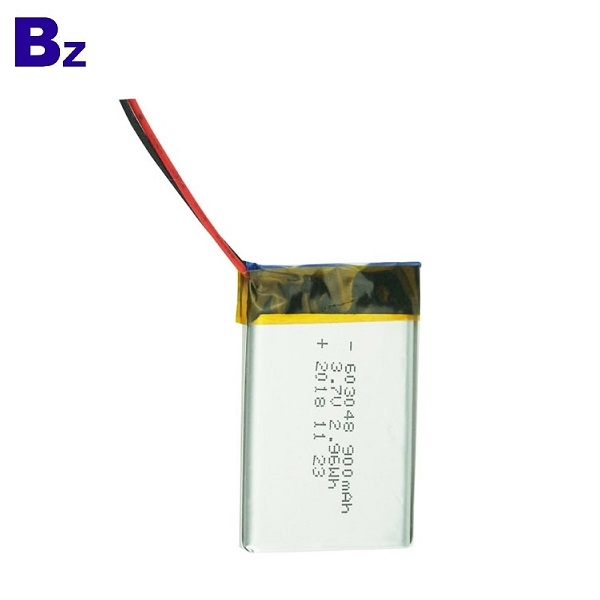 900mAh 3.7V Lipo Battery with KC Certificate