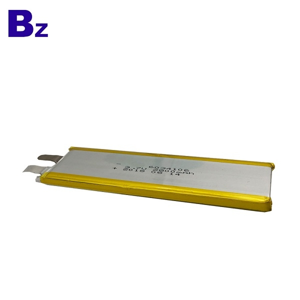 2800mAh 3.7V Polymer Li-ion Battery