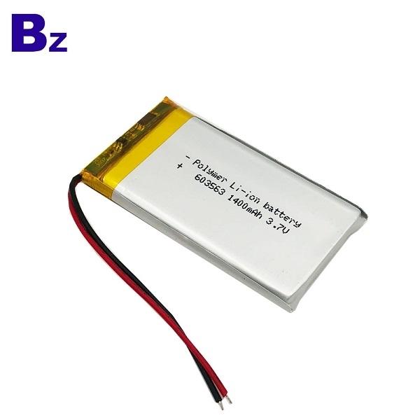 1400mAh 3.7V Lipo Battery