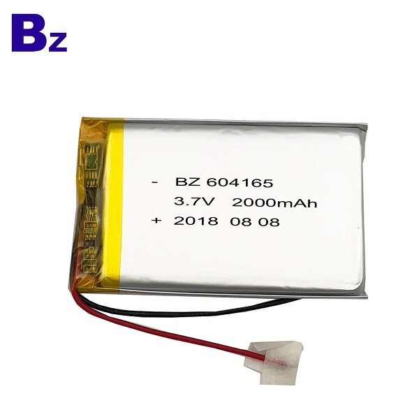 2000mah 3.7V Polymer Li-ion Battery