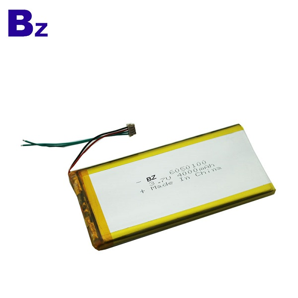 4000mah 3.7V Rechargeable Polymer Li-Ion Battery