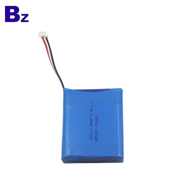 BZ 605060-2S 7.4V 1600mAh Polymer Li-ion Battery
