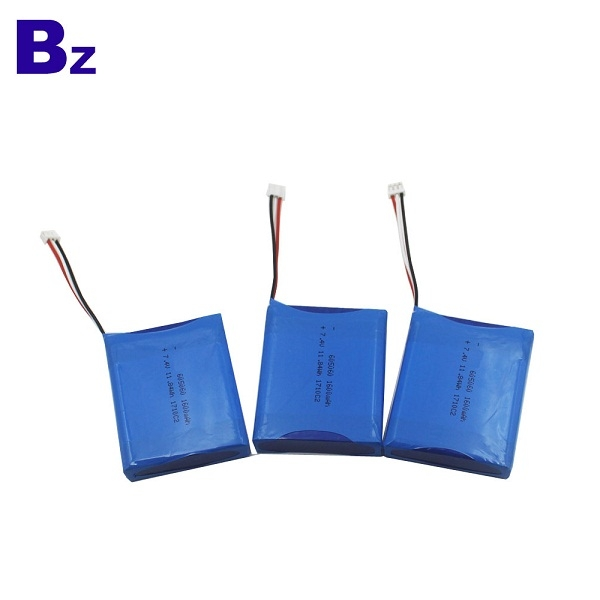 7.4V 1600mAh Polymer Li-ion Battery