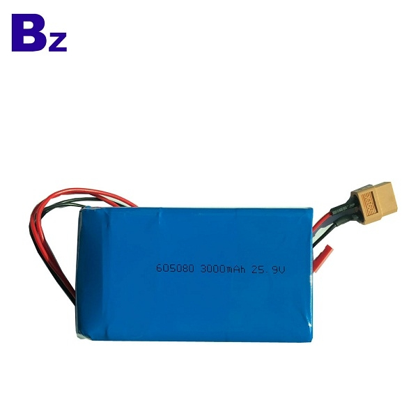 605080-7S 25.9V 3000mAh Polymer Li-ion Battery Pack