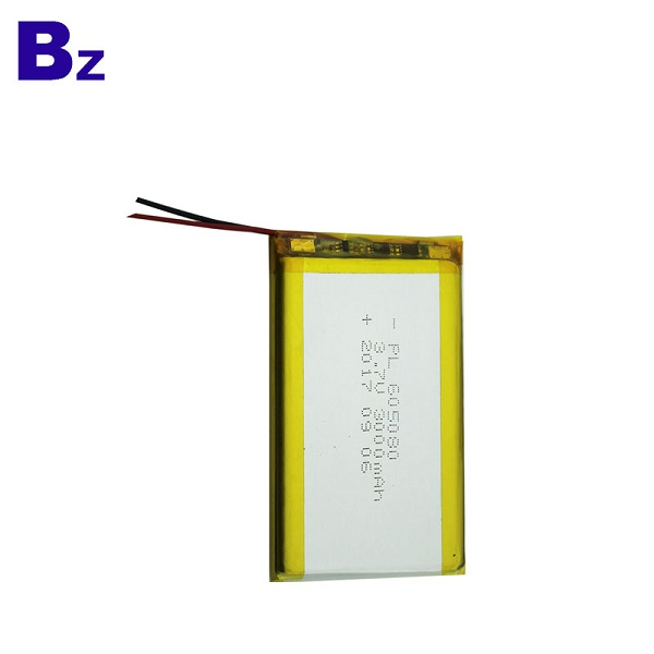3000mah 3.7V Rechargeable LiPo Battery