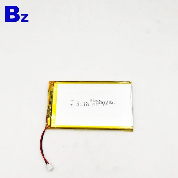 6000mAH 3.7V Rechargeable Battery