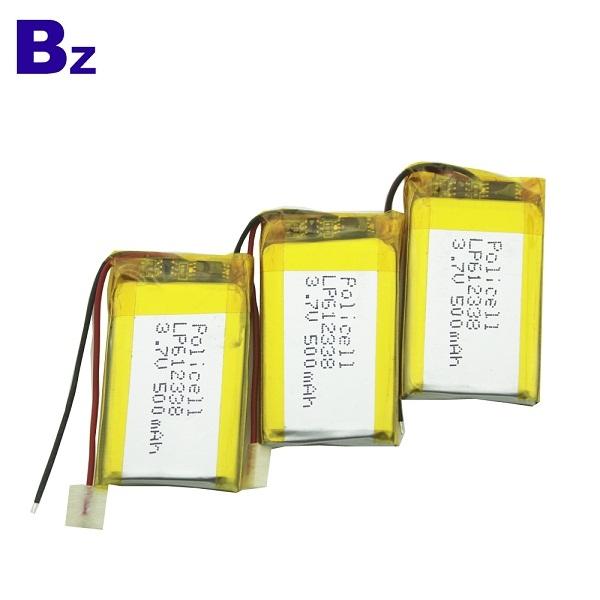 500mAh 3.7V Rechargeable LiPo Battery