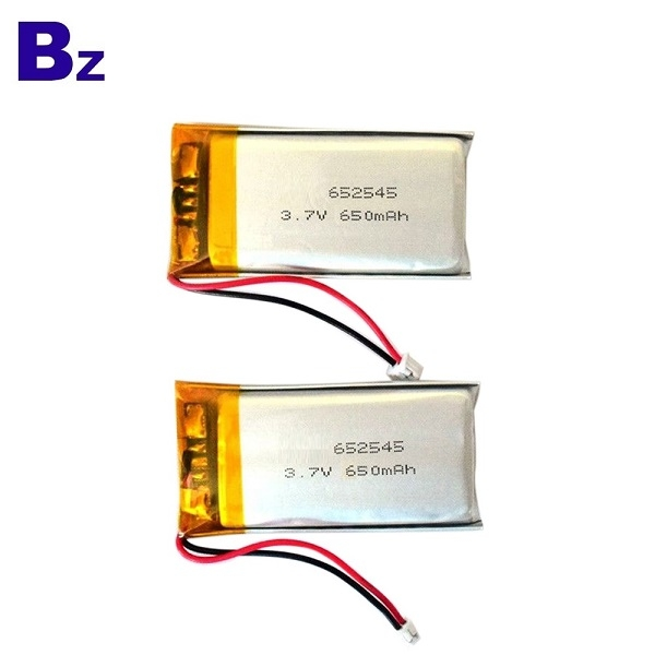 652545 650mAh 3.7V Lipo Battery
