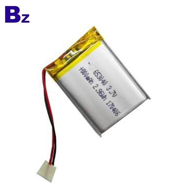 653040 800mAh 3.7V Lipo Battery