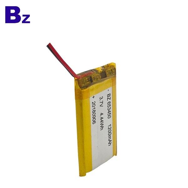 1200mah 3.7V  Li-polymer Battery