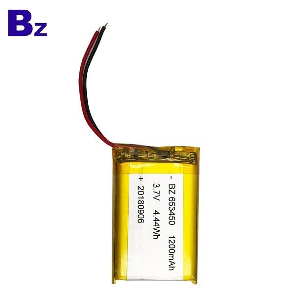 ODM 1200mah 3.7V  Li-polymer Battery