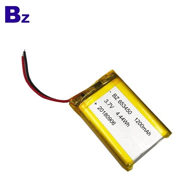 ODM 1200mah Li-polymer Battery