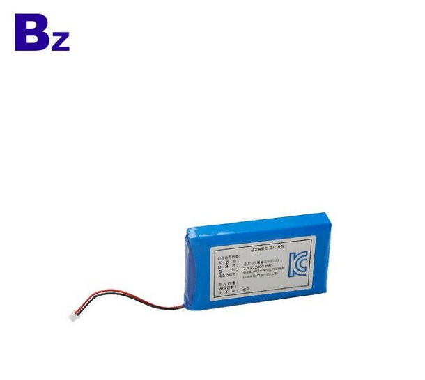 7.4V 2000mah Rechargeable Lipo Battery For Medical Products