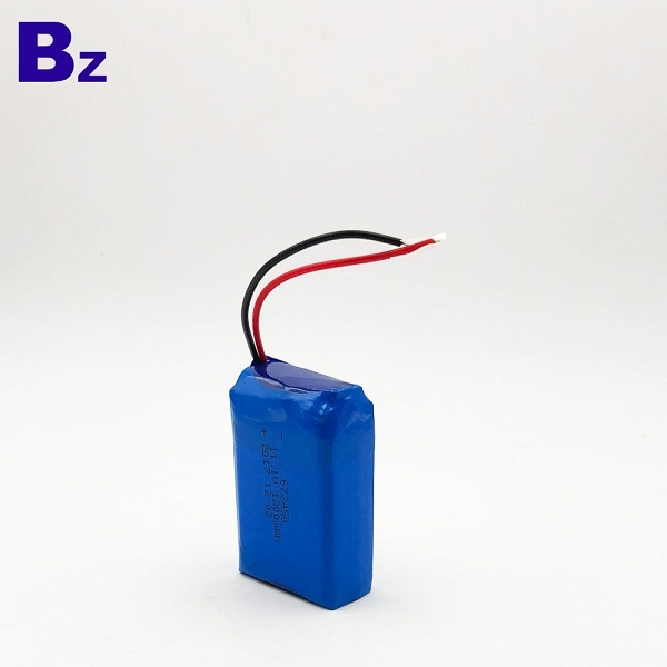 1200mAh 3.7V Polymer Li-ion Battery