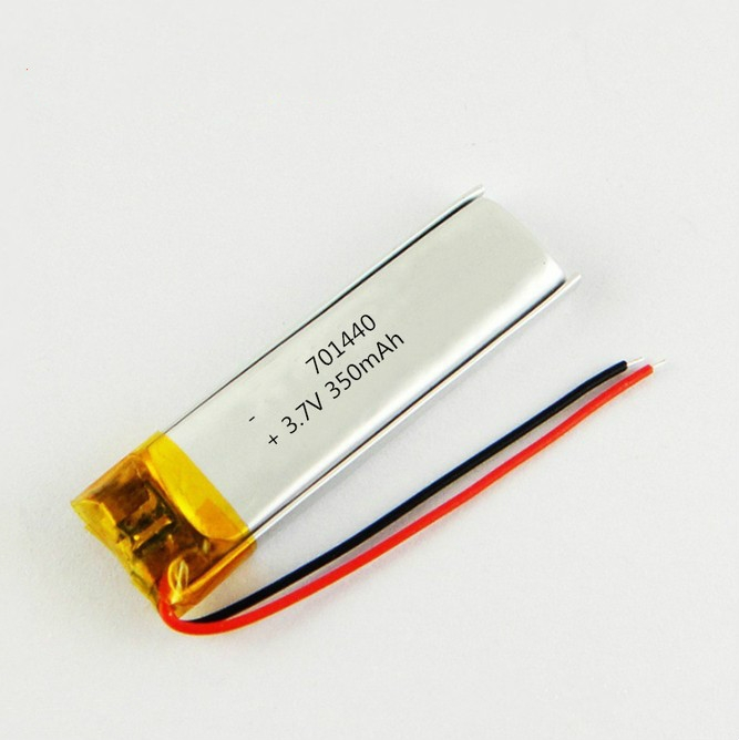 3.7V 350mAh  lipo battery for digital products