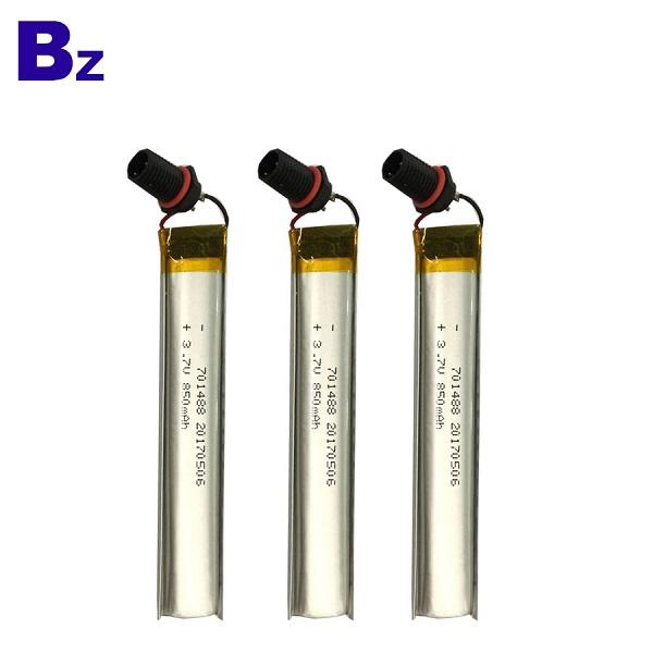 850mah 3.7V Lipo Battery