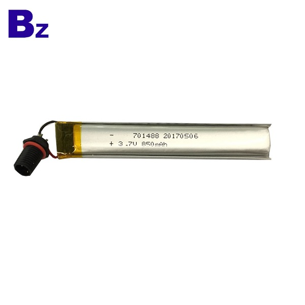 701488 850mah 3.7V Lipo Battery
