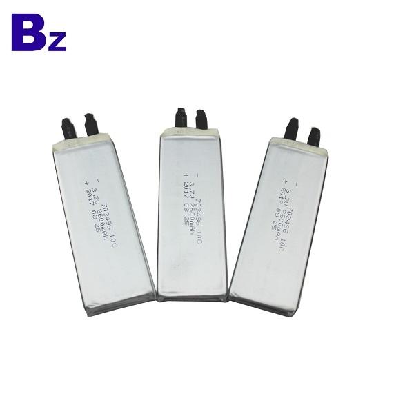 703496 10C 2600mAh 3.7V LiPo Battery Cells