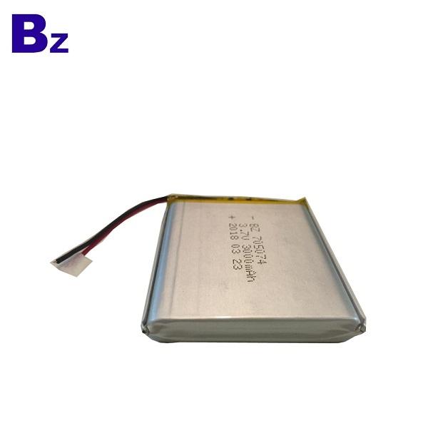 3000mah 3.7V Lipo Battery