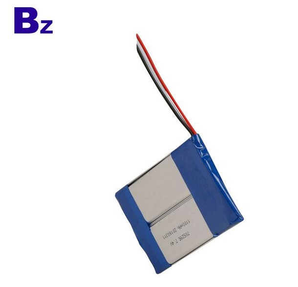 1100mah 7.4V Rechargeable Li-ion Polymer Battery