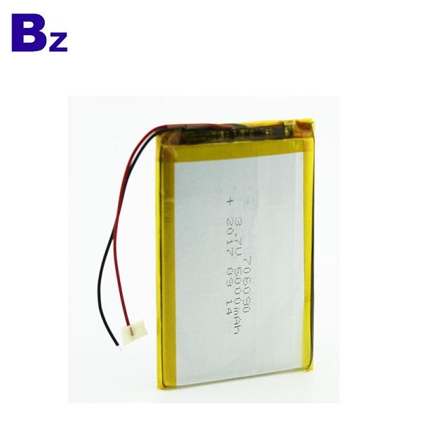 5000mah Rechargeable Li-Polymer Battery
